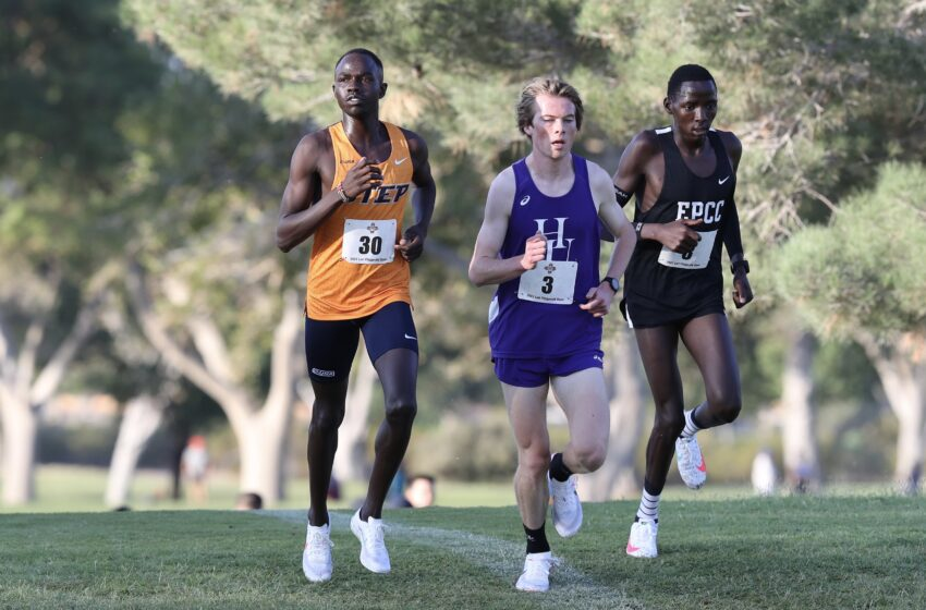 UTEP Men's XC takes team title, Women Place Third at 35th Lori Fitzgerald Memorial Open