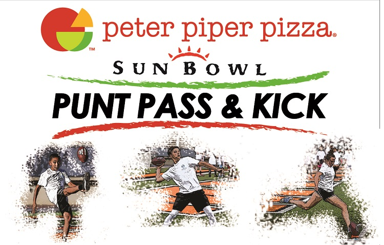 2021 Peter Piper Pizza Sun Bowl Punt, Pass & Kick competition set for October