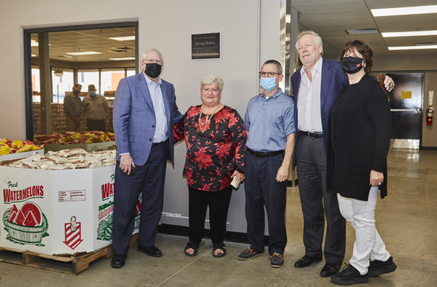 El Pasoans Fighting Hunger Food Bank honors Irving Rubin for his love of community