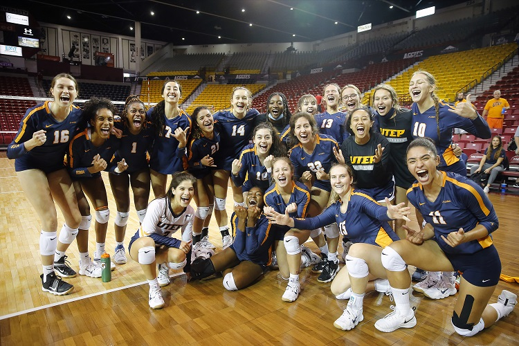 UTEP rallies to spike Arizona in Five Sets; First win over Power Five Program since 2005
