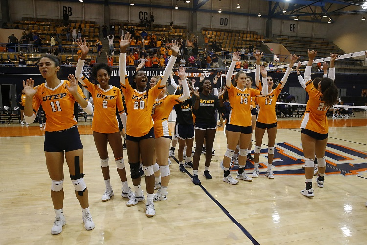 Historic! UTEP Volleyball sweeps Northwestern hours after taking down Arizona