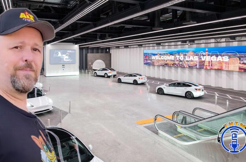 VLog: TNTM's Troy visits the Las Vegas Convention Center 'Tesla Tunnel'