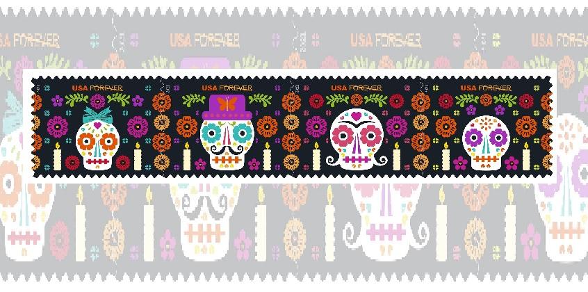 El Paso chosen to host National Unveiling Ceremony for Dia de los Muertos Stamps