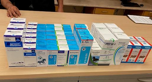 CBP Officers seize horse medication, supplements at Paso Del Norte bridge