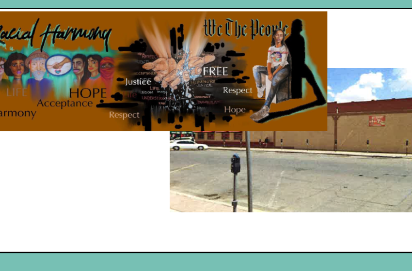 DMD Board ok's mural showcasing winners of Racial Harmony Art Contest; Commercial Facade Improvement Grant
