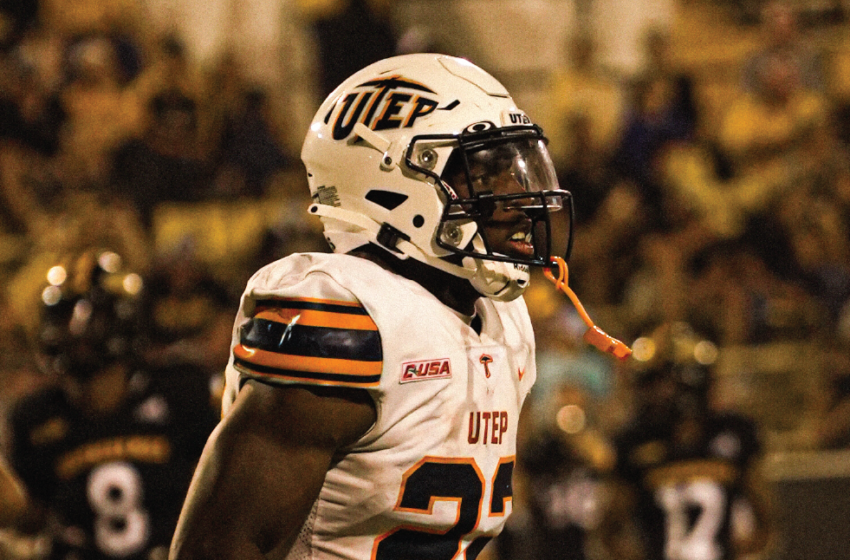 UTEP's Awatt Earns Honorable Mention on Earl Campbell Tyler Rose Player of the Week List