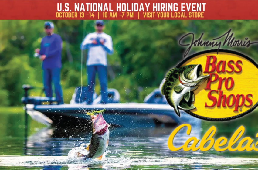 Cabela's to host Hiring Day event in El Paso