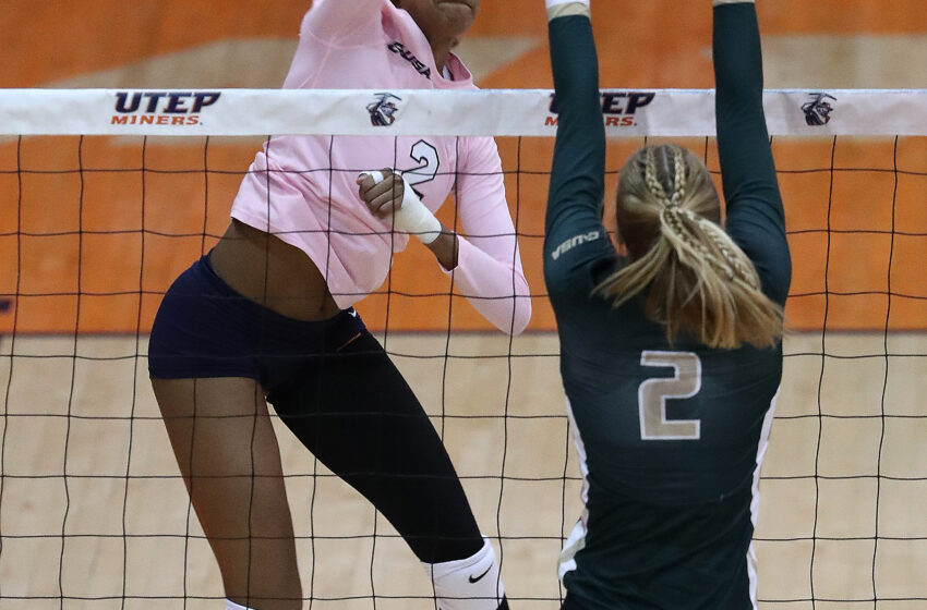 UTEP Volleyball Falls to UAB in Five Sets