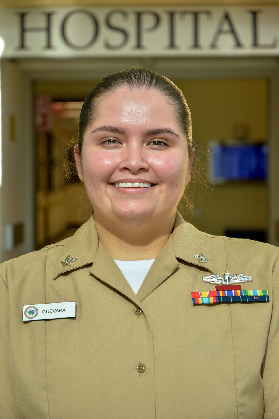 Rachel Guevara | Navy – photo courtesy of Navy Office of Community Outreach