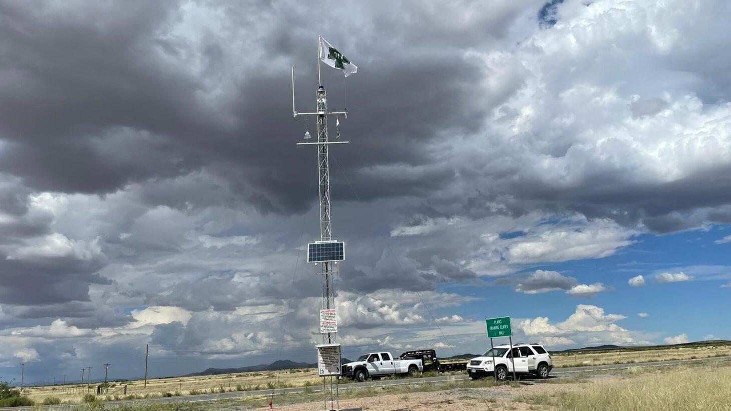 Border Patrol Rescue Beacon