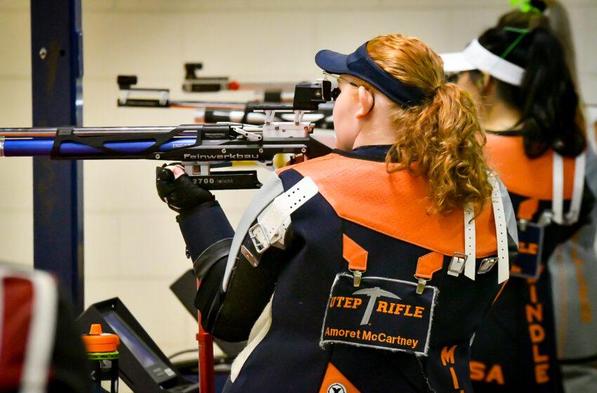 UTEP Rifle closes out Season Opener