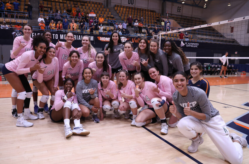 UTEP Volleyball Smokes UAB by Sweep
