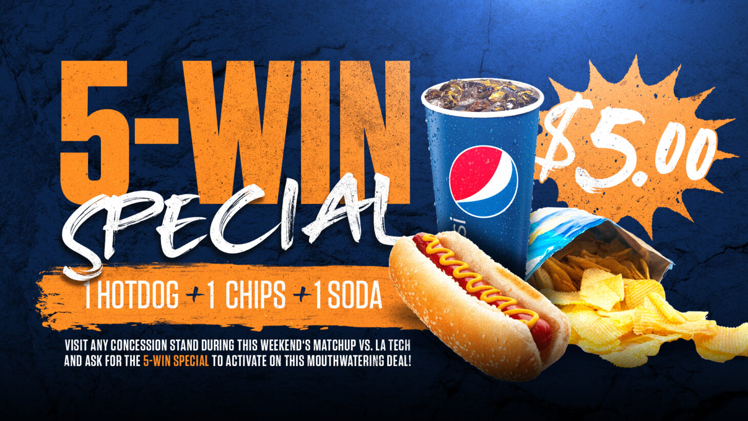 UTEP Five-Win Special