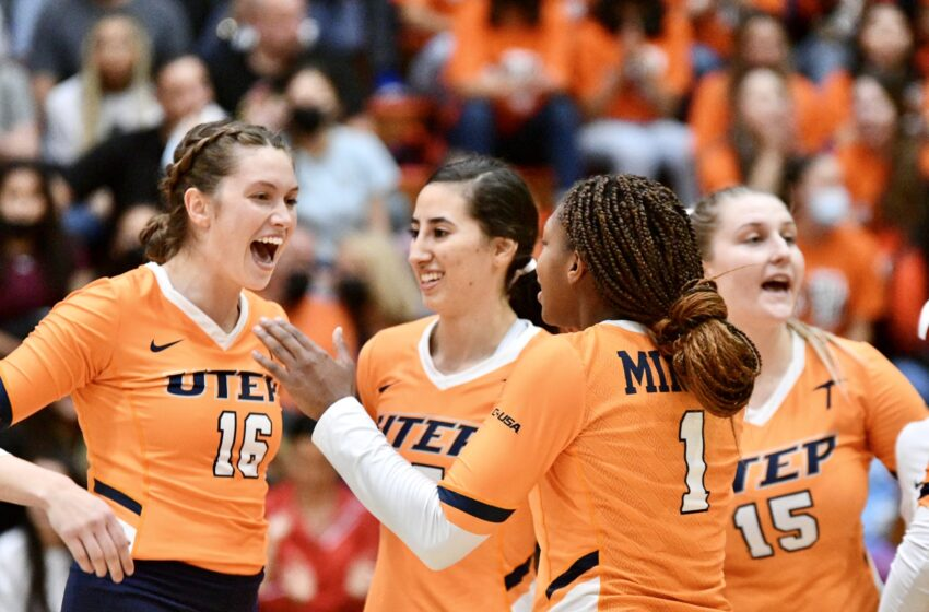 Twice as Nice! UTEP Volleyball repeats sweep Against LA Tech Saturday