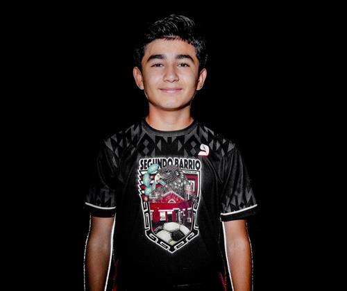 Guillen Middle and Segundo Barrio Futbol Club standout Alex Galindo