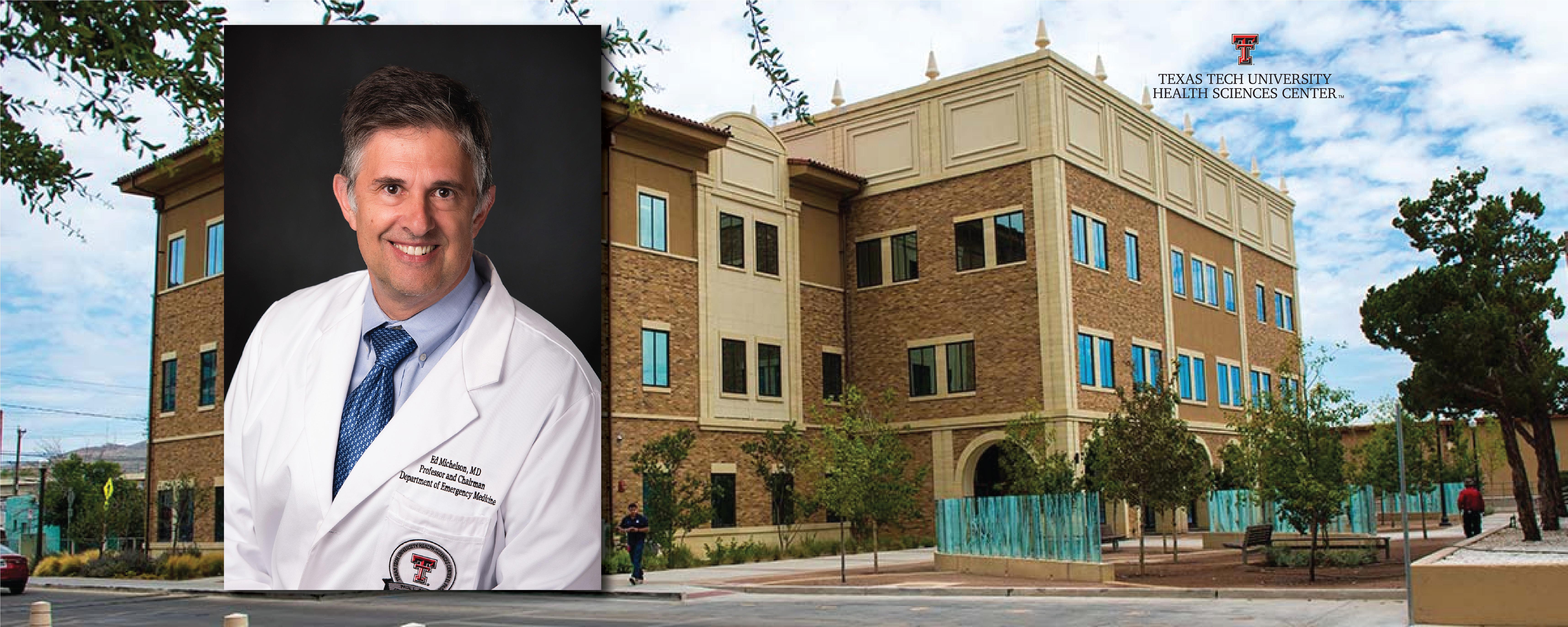 Dr. Edward Michelson – COVID TTUHSC – Photo of Edward Michelson courtesy of TTUHSC