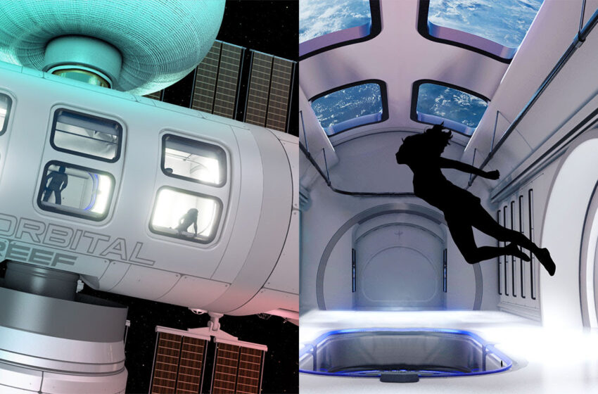 Blue Origin and Sierra Space Developing Commercial Space Station