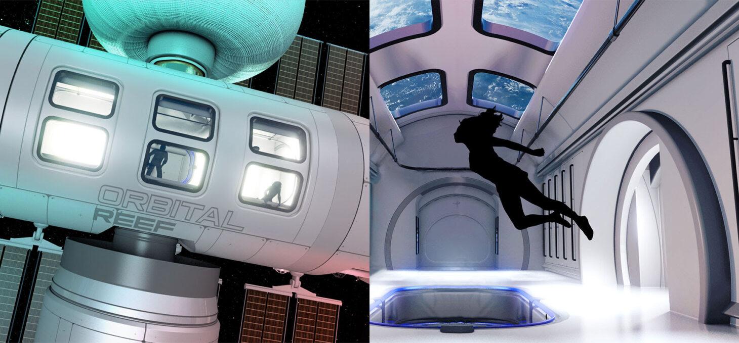 Blue Origin &  Sierra Space – Orbital Reef